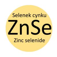 Zinc Selenide (ZnSe) optical elements for infrared applications.
