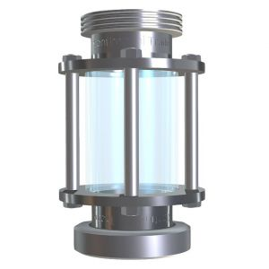 Tubular flow sight glass type 650