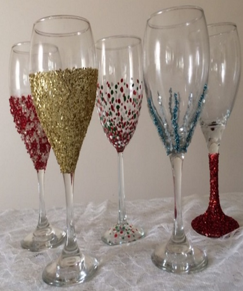 Decorate Plastic Wine Gles The Best 2018