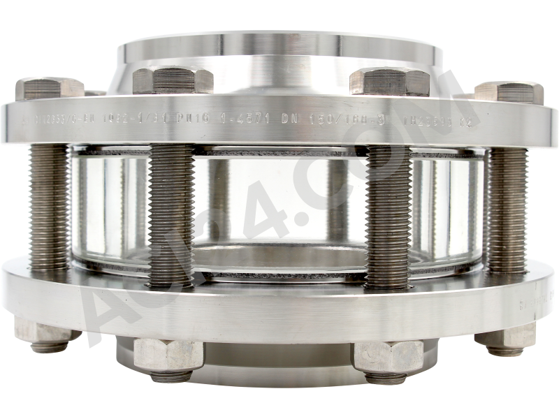 Intermediate flange sight glass type 640A - front view